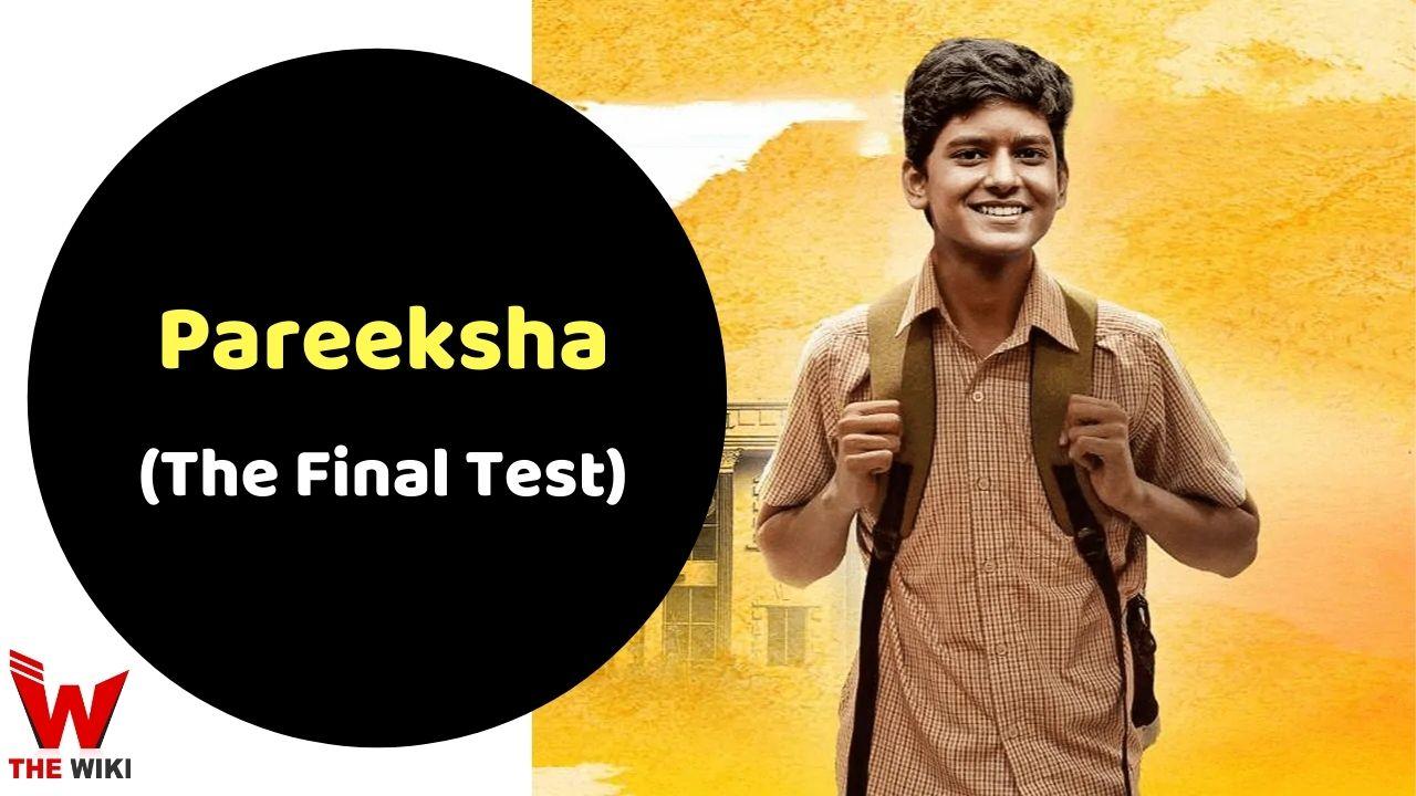 Pareeksha (Zee5)