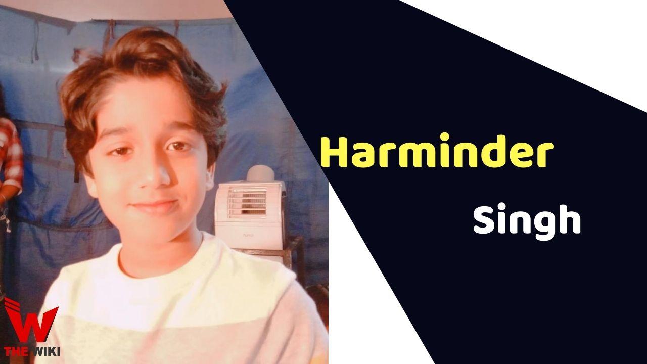 Harminder Singh (Child Actor)